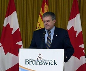 Premier Alward announces $50 million fund for Miramichi