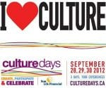 New Brunswick will celebrate Culture Days 2012