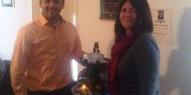 MLA Jake Stewart Hosts Christmas Event