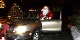 Santa Sighting in Miramichi!