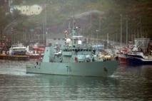 HMCS Summerside, 181.43 feet, Homeport: CFB Halifax, NS