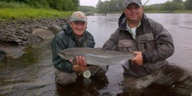 Miramichi Fishing Report for Thursday, July 25, 2013