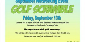 MYPIE Golf Scramble