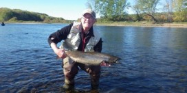 Miramichi Fishing Report for Thursday, October 24, 2013