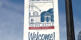 New Banners for Newcastle Business District