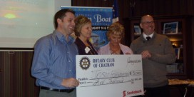 Chatham Rotary Club Show Support