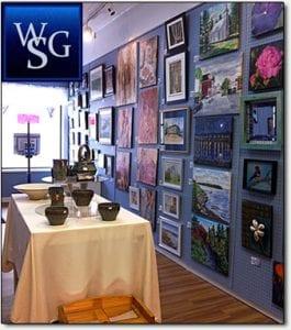 Inside Water Street Gallery