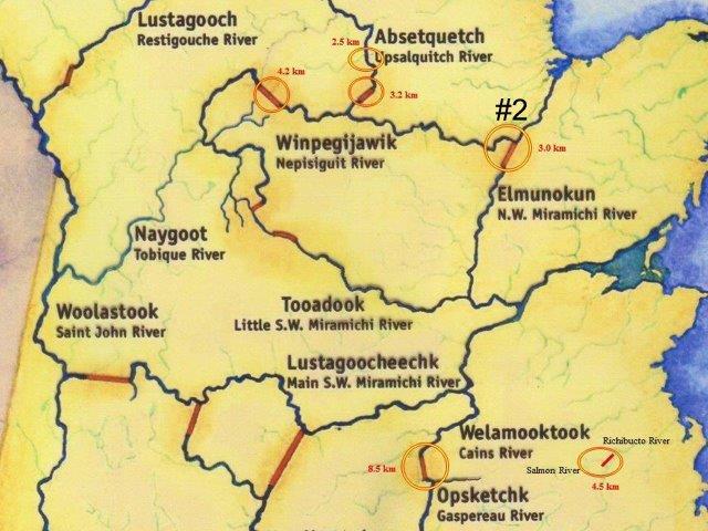 portage trail map