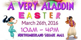 """Change Miramichi presents """"A Very Aladdin Easter"""" at Northumberland Square"""