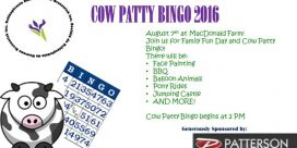 21st Annual SSNB-Miramichi Cow Patty Bingo at MacDonald Farm