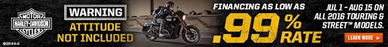 JH Stewart Ltd Harley Davidson 0.99% Financing