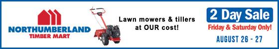 Northumberland Coop Mowers & Tillers sale