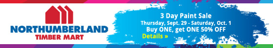 Northumberland Coop 3 Day Paint Sale