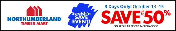 Northumberland Coop 3 Day Scratch and Save