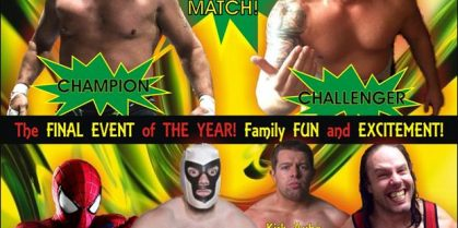 MainStream Wrestling Final Event of Year Coming Up Soon in Renous