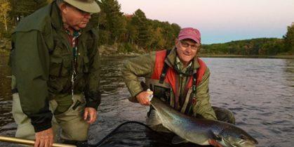 Miramichi Fishing Report for Thursday, October 13, 2016