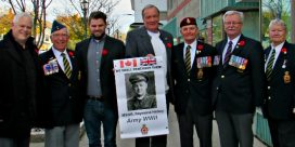 Veteran Banners for Remembrance Day Unveiled