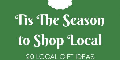 Tis the Season to Shop Local