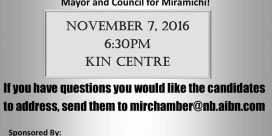 Meet the Candidates Monday November 7th