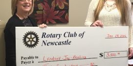2016 Rotary Club of Newcastle Scholarship Recipient