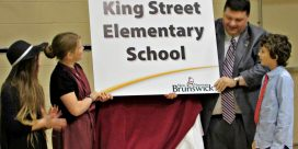 King Street Elementary School Named in Ceremony