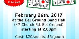 Merchandise Bingo Fundraiser for Local Girl Guides in Eel Ground