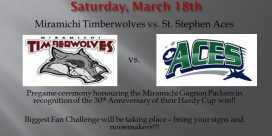 Playoffs Round 1: Timberwolves VS Saint Stephen Aces this Weekend