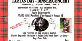 Tartan Day – Dinner / Concert