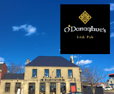 Introducing O'Donaghue's Irish Pub in A Taste of Miramichi