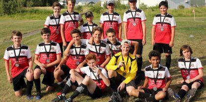 U14 Boys Runner-up in Moncton Codiac Tournament
