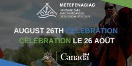 Metepenagiag Artifact Repatriation – Canada 150th Anniversary Celebration