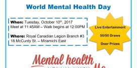 World Mental Health Awareness Walk