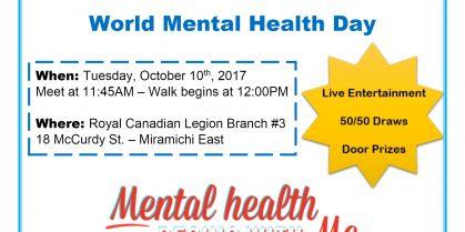 World Mental Health Awareness Walk