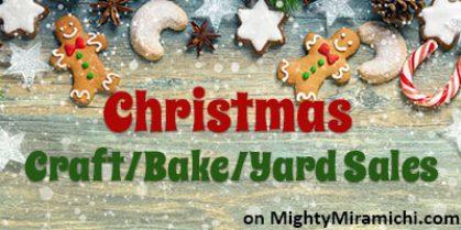 Christmas Craft Sale Season is Here!