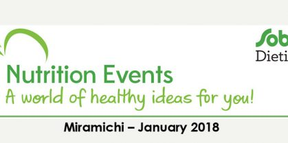 Nutrition Events at Sobeys