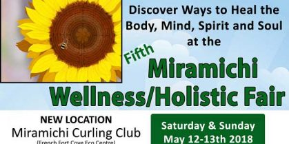 The Miramichi Wellness Holistic Fair is Back for a 5th Year