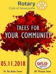 Trees For Your Community – Celebrating 75 Years of Rotary
