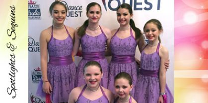 Mother's Day Tea for Spotlights and Sequins Competitive Dance Team