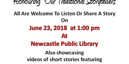 Celebrating National Indigenous Peoples Day 2018: Newcastle Public Library