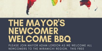 The 1st Annual / Mayor's 2018 Newcomers Welcome B.B.Q.
