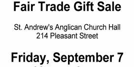 Fair Trade Gift Sale