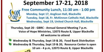 2018 Hunger Awareness Week