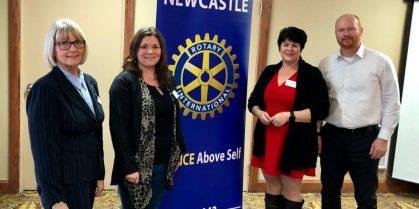 Rotary Club of Newcastle Welcomes New Members