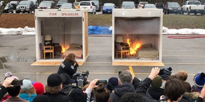 Home Fire Sprinkler Coalition awards  more than $10,000 in stipends to Canadian fire departments