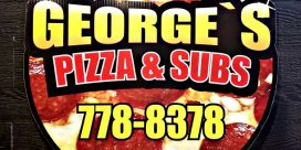 George's Pizza & Subs – New Location and Newly Designed Menu to Serve You Better!!