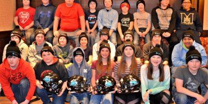 Rotary Club of Newcastle Donates to the Miramichi Minor Football Association