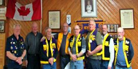 Newcastle Lion's Club Recognizes Members With Awards And Pins For Years Of Service
