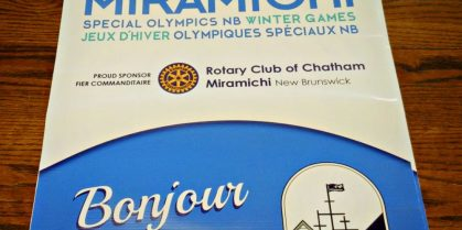 Historic Chatham Business District Reveals Welcome Banners for The NB Special Olympics Winter Games  – February 21st to 24th, 2019