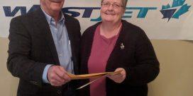 WESTJET Winner Announced by NB Masonic Charities & Housing.