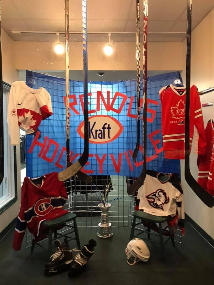 Maple Leaf Motors >> Vote Renous NB for Kraft Hockeyville - Giver on the River